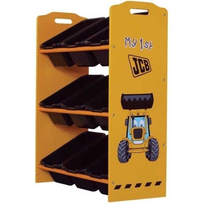 Kidsaw JCB 9 Bin Storage JCBK9P