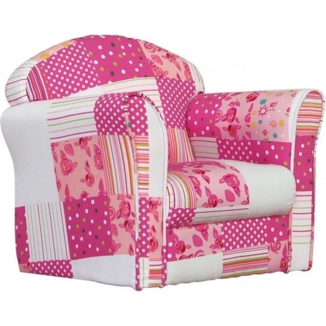 Kidsaw Mini Armchair Patchwork MAPW1