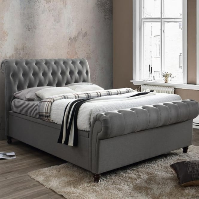 Phenomenal Discounted Birlea Beds Castello 6Ft Super Kingsize Grey Side Gmtry Best Dining Table And Chair Ideas Images Gmtryco