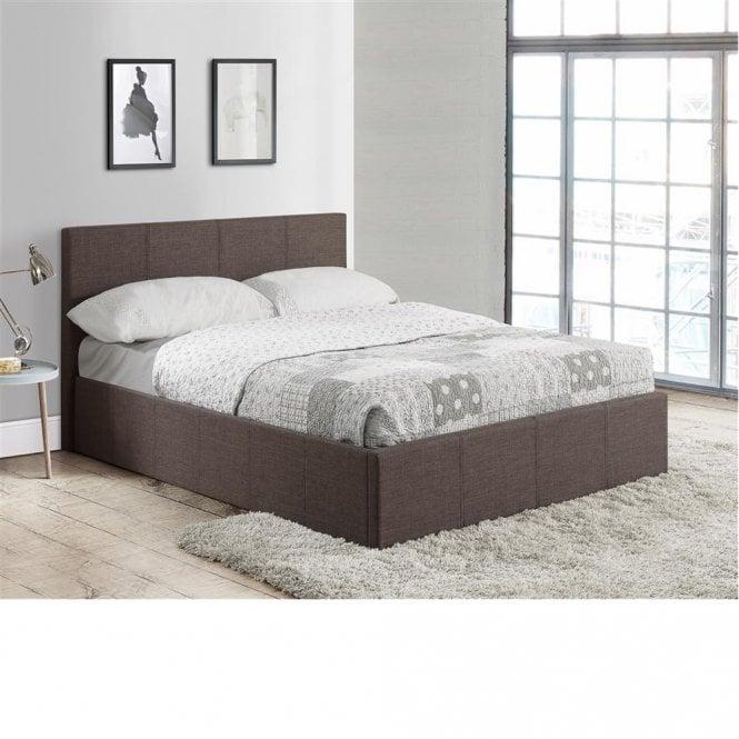 Enjoyable Discounted Birlea Beds Befot3Gryv2 Berlin 3Ft Single Grey Inzonedesignstudio Interior Chair Design Inzonedesignstudiocom