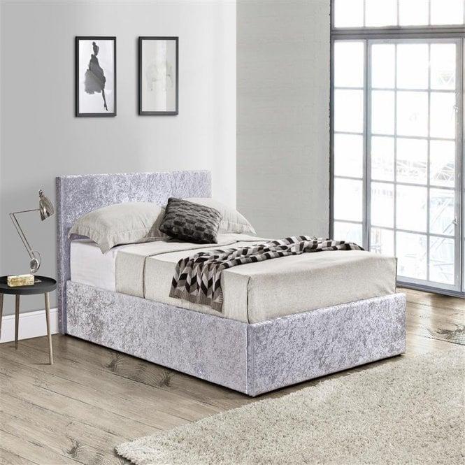 Terrific Shop Birlea Beds Beot4Stev2 Berlin 4Ft Small Double Steel Alphanode Cool Chair Designs And Ideas Alphanodeonline