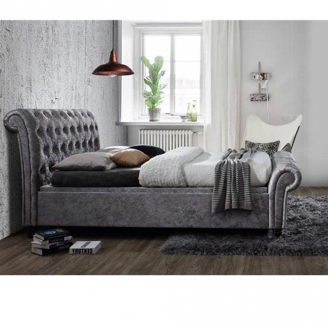Tremendous Savings On Birlea Beds Castello 4Ft6 Double Grey Side Creativecarmelina Interior Chair Design Creativecarmelinacom
