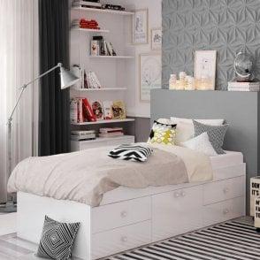 Arctic Multi Drawer Single bed